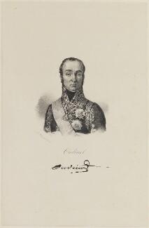 Nicolas Charles Oudinot, duc de Reggio, after Lefebvre - NPG D15902