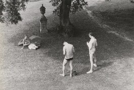 Cecil Beaton and two others, by Unknown photographer - NPG x40683