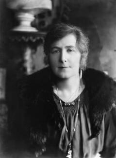 Gertrude Kingston, by Bassano Ltd, 24 October 1919 - NPG x18923 - © National Portrait Gallery, London