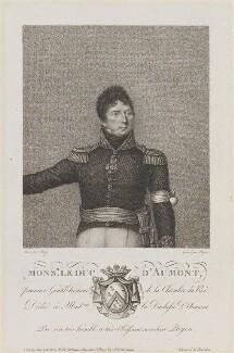 Louis Marie Celeste, duc d'Aumont, by Payen, after  Joseph Boze - NPG D15904