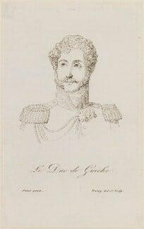 Antoine Geneviève Heraclius Agénor, 9th duc de Gramont, by Jacques Noël Marie Fremy - NPG D15905