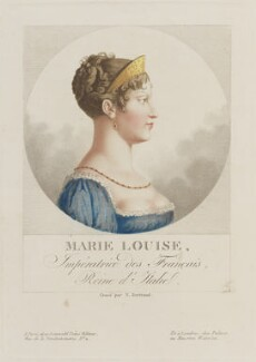 Marie Louise of Austria, by Noël François Bertrand - NPG D15914