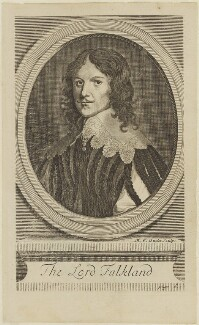 Lucius Cary, 2nd Viscount Falkland, by Michael Vandergucht, after  Sir Anthony van Dyck - NPG D15916