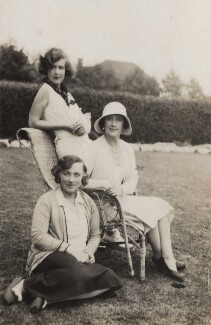 Etty Beaton; Nancy Beaton and an unknown woman, by Cecil Beaton - NPG x40989