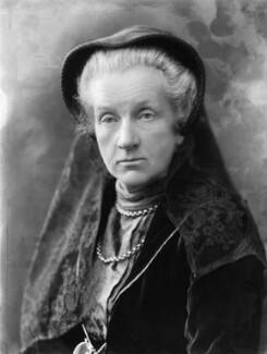 Lady Frances Balfour (née Campbell), by Bassano Ltd - NPG x19246