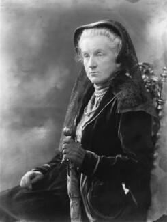 Lady Frances Balfour (née Campbell), by Bassano Ltd - NPG x19247