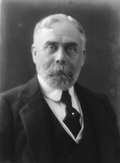 Sir (Horatio) Gilbert George Parker, 1st Bt, by Bassano Ltd - NPG x19308