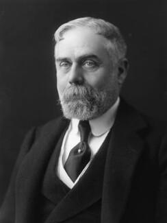 Sir (Horatio) Gilbert George Parker, 1st Bt, by Bassano Ltd - NPG x19309