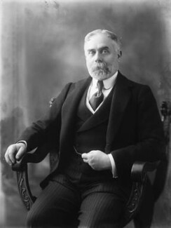 Sir (Horatio) Gilbert George Parker, 1st Bt, by Bassano Ltd - NPG x19310