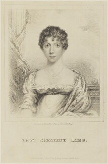 Lady Caroline Lamb, by Henry Meyer, published by  Henry Colburn - NPG D15947