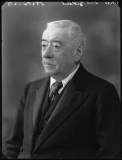 Lawrence Dundas, 1st Marquess of Zetland, by Bassano Ltd - NPG x37348