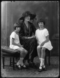 Prince Louis Napoléon; Princess Victor Napoléon; Princess Marie Clotilde Napoléon, by Bassano Ltd - NPG x37340