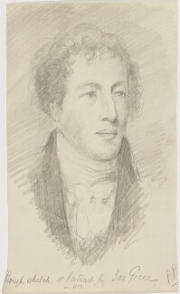 Unknown man, by R.P., after  James Green - NPG D18558