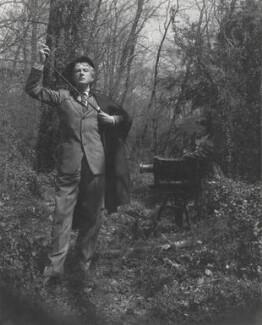 Cecil Beaton; Dorian Leigh, by Irving Penn - NPG x40470
