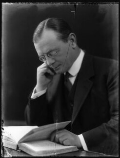 Leopold Stennett Amery, by Bassano Ltd, 23 November 1921 - NPG x81107 - © National Portrait Gallery, London