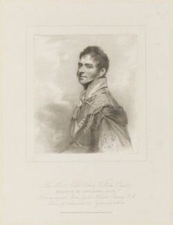 Henry William Paget, 1st Marquess of Anglesey, by Henry Meyer, published by  T. Cadell & W. Davies, after  John Jackson, after  Sir William Beechey, published 21 March 1817 - NPG D15987 - © National Portrait Gallery, London