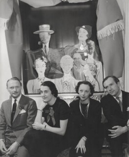 Cecil Beaton and three others, by Pix Publishing Inc. - NPG x40685