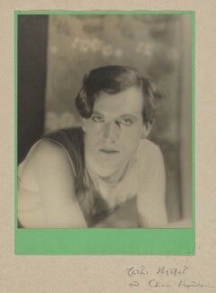 Cecil Beaton, by Curtis Moffat, and  Olivia Wyndham - NPG x30316