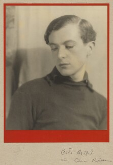Cecil Beaton, by Curtis Moffat, and  Olivia Wyndham - NPG x30315