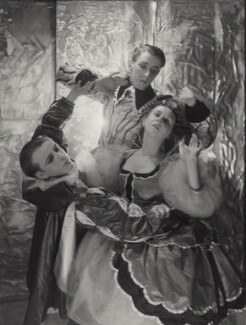 Sir Frederick Ashton; Harold Turner; Lydia Lopokova in 'The Masque of Beauty and Pleasure', by Cecil Beaton, 1930 - NPG x40698 - © Cecil Beaton Studio Archive, Sotheby's London