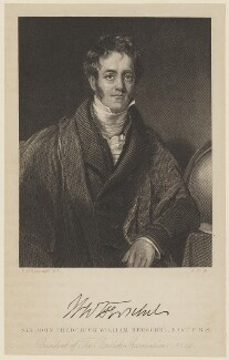 Sir John Frederick William Herschel, 1st Bt, by J. Cook, after  Henry William Pickersgill - NPG D16022