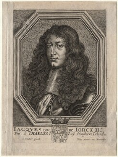 King James II, after Charles Wautier (Wautiers, Woutiers), 1650s? - NPG D18567 - © National Portrait Gallery, London