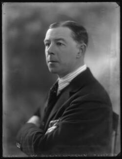 Sir George Kinloch, 3rd Bt, by Bassano Ltd - NPG x123737
