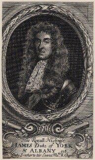 King James II, after Unknown artist - NPG D18573