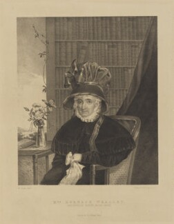 Mrs Horneck Whalley, printed by Engelmann & Co, published by  E. Collings, after  Maxim Gauci - NPG D16025