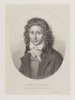 François Pascal Simon, Baron Gérard, by Philippe Joseph Vallot, after  Antoine-Jean Gros - NPG D16039