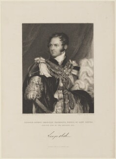Leopold I, King of the Belgians, by James Thomson (Thompson), published by  Fisher Son & Co, after  Sir Thomas Lawrence, published 1831 - NPG D16050 - © National Portrait Gallery, London
