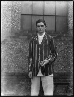 Edward Raymond ('Ted') Avory, by Bassano Ltd - NPG x123763