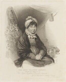 Charlotte of Mecklenburg-Strelitz, by Henry D. Thielcke, published by  Colnaghi & Co, after  Henry Edridge - NPG D16057