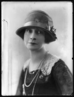 Maud Maitland (née Savil), Countess of Carnwath, by Bassano Ltd - NPG x123764