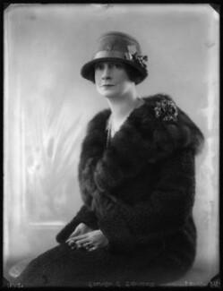 Maud Maitland (née Savil), Countess of Carnwath, by Bassano Ltd - NPG x123765