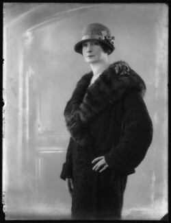 Maud Maitland (née Savil), Countess of Carnwath, by Bassano Ltd - NPG x123766