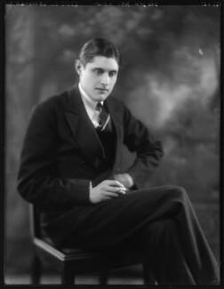 John Rosebery Monson, 10th Baron Monson, by Bassano Ltd - NPG x123772