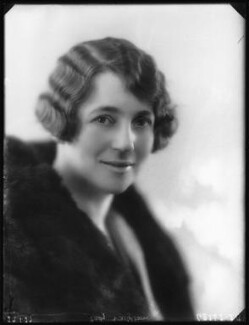 Gwendolin Cotterill (née Neame), Lady Wrightson, by Bassano Ltd - NPG x123779