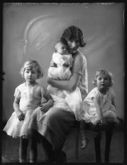 The Monckton-Arundell family, by Bassano Ltd - NPG x123790