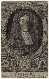 King James II, after Unknown artist - NPG D18584