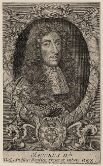 King James II, after Unknown artist - NPG D18583