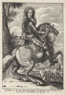 King James II, after Unknown artist - NPG D18587
