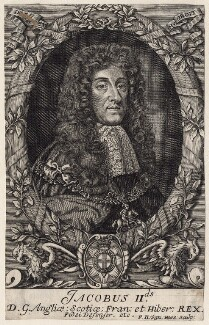 King James II, by Frederick Hendrik van Hove, after  Unknown artist - NPG D18589