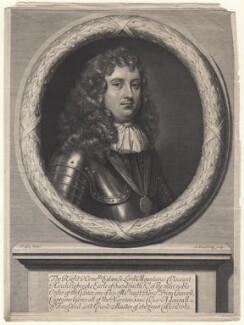 Edward Montagu, 1st Earl of Sandwich, by Abraham Blooteling (Bloteling), after  Sir Peter Lely - NPG D18607