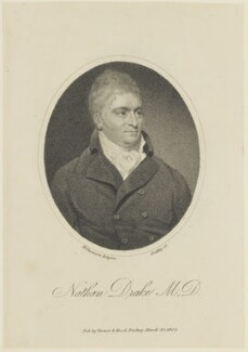 Nathan Drake, by William Ridley, published by  Vernor & Hood, after  Henry Thomson - NPG D16067