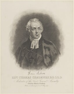 Thomas Chalmers, by William Home Lizars - NPG D16068