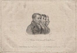 James Watson; Arthur Thistlewood; Thomas Preston; John Hooper, by William Holl Sr, published by and after  George Scharf - NPG D18602