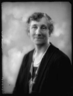 Lilian Isabel (née Ronaldson), Lady Goodwin, by Bassano Ltd - NPG x123816