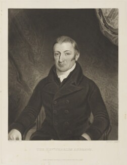Charles Andrews, by and published by Charles Turner, after  Charles Jenour, published 1 October 1823 - NPG D16082 - © National Portrait Gallery, London