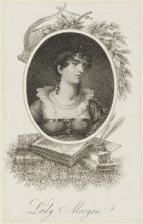 Sydney Morgan (née Owenson), Lady Morgan, published by Dean & Munday - NPG D16113